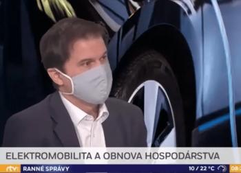 Ranné správy RTVS – Elektromobilita a obnova hospodárstva
